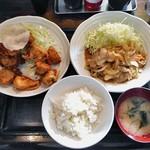 はりま屋 - 料理写真:よくばり定食