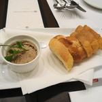 シンプルキッチン - 鳥白ペースト+バゲット