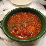 シンプルキッチン - 牛スジ・トマトの煮込み