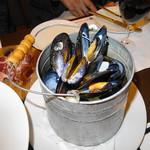 シンプルキッチン - ムール貝