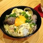 炭火ビストロ 華泉 - 大人の親子丼 ミニサイズ