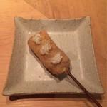 串揚げ 依知川 - 牛タン(ネギのせ)