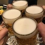 78317073 - 生ビールでかんぱ~い