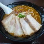 CoCo壱番屋 - 料理写真:濃厚うまこくカレーらーめん+チャーシュートッピング