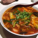 紅宝石 - 激辛担々麺