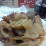 辰ちゃん串焼き - 韓国風おでん?
