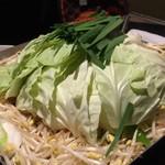 肉山の一階 - 辛々鍋の野菜