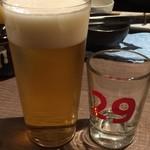 肉山の一階 - 生ビール