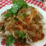 モンティー - 豚肉のサラダ