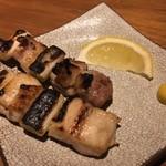 78321540 - 宮崎赤鶏ねぎま藻塩焼き