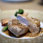 ヤナカ スギウラ - 同行者のメイン お肉料理でした