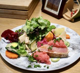 ヤナカ スギウラ - 冷たい前菜