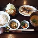 魚山亭 - 冷汁定食