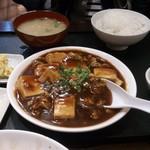 天心軒 - ・マーボ豆腐定食 600円