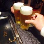 78326500 - 生ビールでカンペー\(^o^)/