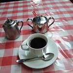煉瓦亭 - ホットコーヒー500円