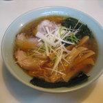 トットちゃん - 醤油ラーメン(550円)
