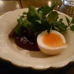 couscous Rougir - ランチのサラダ