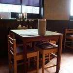 はざま - テーブル席
