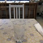 スパルタ - 冷たい水。 うまし。