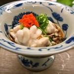 大久寿司 - 鱈白子ポン酢