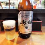 お食事処 つかさ - ドリンク写真:ビール大瓶 700円(2017.12月)