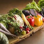 フジヤマ キッチン - 料理写真:富士山麓周辺の新鮮な野菜を使用