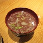 さぬき名物 骨付鳥 田中屋 - とりスープ