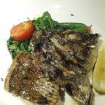 オルティージャ - 真鯛のグリル(炭火焼)