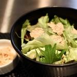 ATOUT - ランチのサラダ