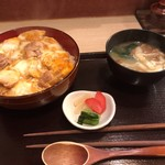 78341814 - 比内地鶏の親子丼(1000円)