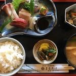 まるたけ割烹料理 - 料理写真:(2017-12-22)  刺身定食