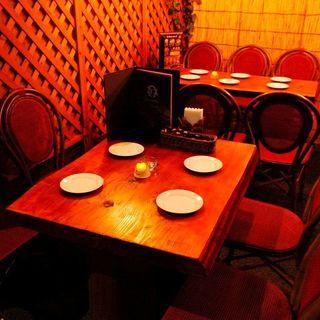 広々テラスで楽しくお食事を!店内の貸切利用も大歓迎です♪