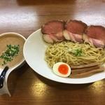 78347236 - うるとらしょうゆつけ麺(限定20食) 1000円