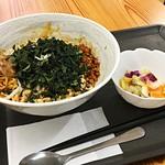 78349945 - 碾茶マシマシ汁なし坦々麺セット