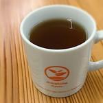 d:matcha Kyoto CAFE & KITCHEN - セットのドリンク