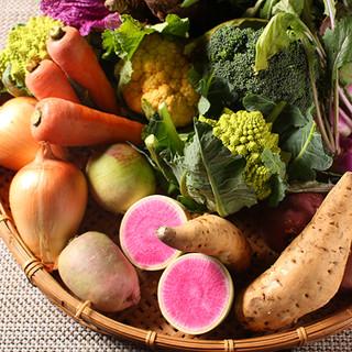 産地にこだわらず、野菜にこだわる