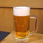 酒津屋 - 生ビール