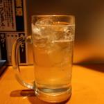 戸塚肉酒場 - ゆずみつハイボール
