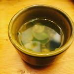 うたげどころ うぉっしゅ - じじみ汁