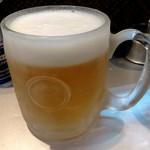 麺匠 呉屋 - 生ビール