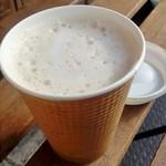 下町カフェ アマノ - コーヒー牛乳