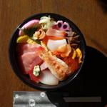不二寿司 - 料理写真:お持ち帰り 特注海鮮丼 2,500円