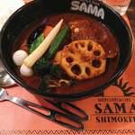 SAMA - チキン野菜カリー @1,300円