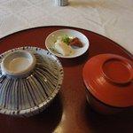 はり清 - 御飯・味噌汁・漬物('11.05)