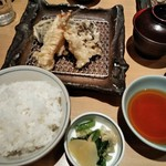 78360500 - [料理] 上天ぷら膳 全景♪w