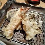 78360534 - [料理] 天ぷら盛り合わせ ①