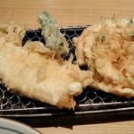 天喜代 - [料理] 天ぷら盛り合わせ ②