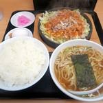 大盛軒 - 鉄板麺¥880