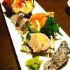 はかたや木鶏 - 料理写真:お刺身盛り合わせ  盛り付け綺麗^^